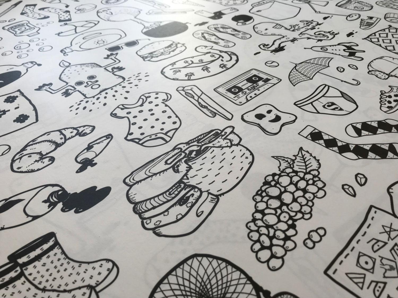 Papier peint ilo Graphisme 2