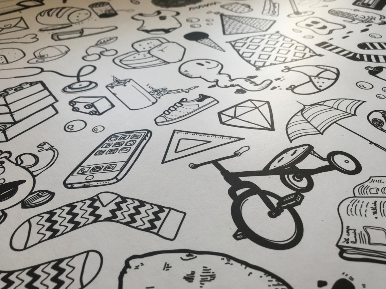 Papier peint ilo Graphisme 3