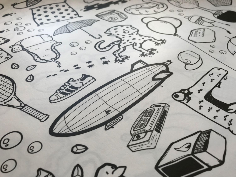 Papier peint ilo Graphisme 5