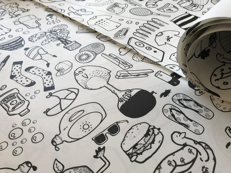Papier peint ilo Graphisme 1