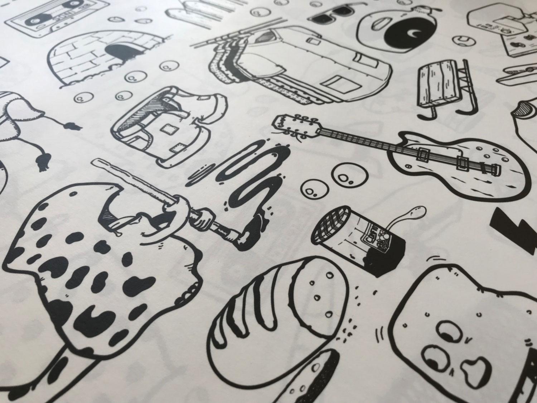 Papier peint ilo Graphisme 7